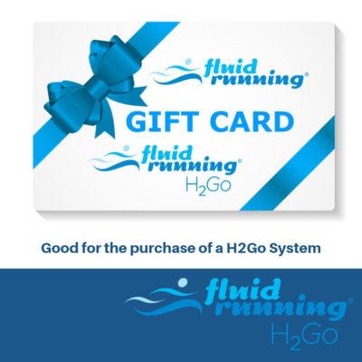 Fluid Running Gift Card